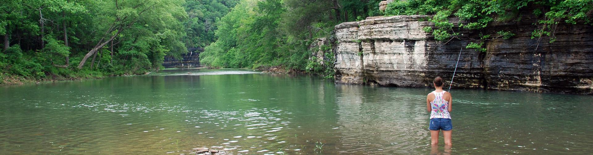Fishing the Upper Buffalo River