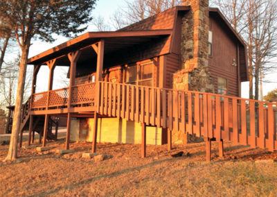 Cabins for rent on the Upper Buffalo River, Boxley Valley